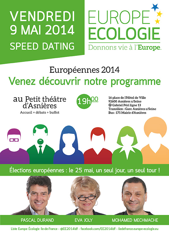 Speed dating ile de france